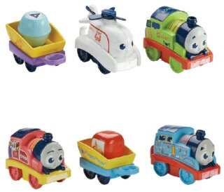 Mašinka Tomáš MyFirst Railway Pals 3-Pack Engines