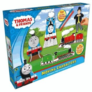 Mašinka Tomáš Colour Your Own Thomas & Friends Moving Characters