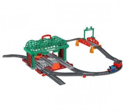 Mašinka Tomáš TrackMaster Push Along Knapford Station Play Set