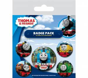 Mašinka Tomáš The Faces of Sodor Badge