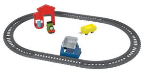 Mašinka Tomáš TrackMaster Push Along Percy's Barrel Drop Playset