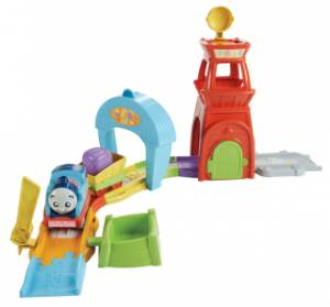 Mašinka Tomáš MyFirst Railway Pals Rescue Tower Track Set