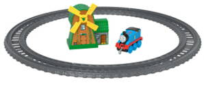 Mašinka Tomáš TrackMaster Push Along Thomas and the Windmill Playset