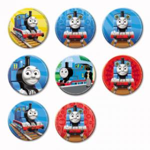 Mašinka Tomáš Button Badge Thomas